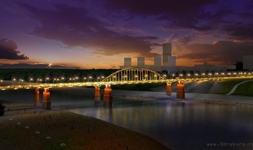 мост визуализация