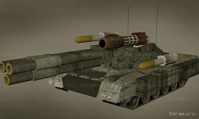 танк в 3d