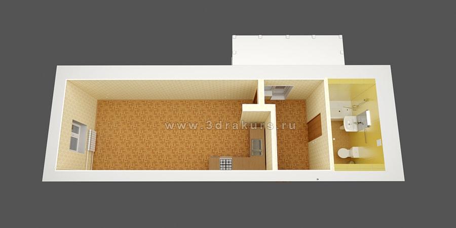 3d планировка квартиры заказать